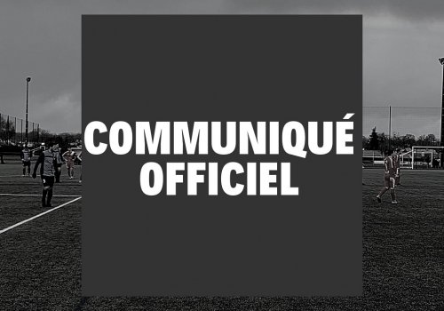Communiqué officiel 28.10.2020